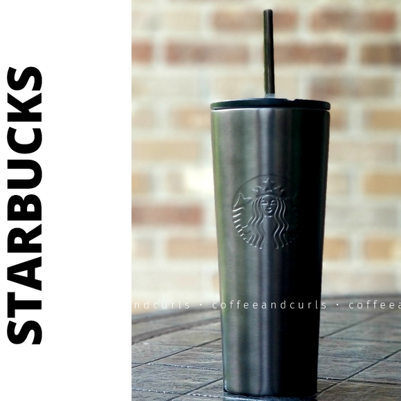 READ! Stainless Steel Gun Metal Cold Cup 16oz